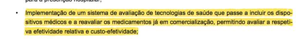 do OE 2015 - avaliação de tecnologias em saúde